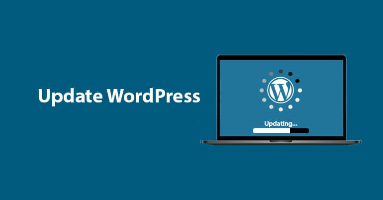 WordPress Website Fresh Update